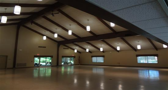 inside community center
